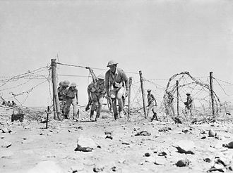 2/13th Battalion (Australia) - A patrol from the 2/13th around Tobruk