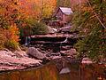 Autumn-red-glow-grist-mill - West Virginia - ForestWander.jpg