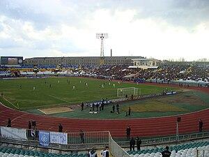 Avanhard Stadium (Luhansk) - Image: Avanhard Luhansk 2