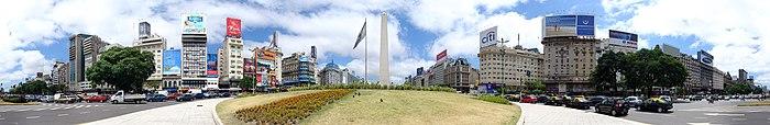 Avenida 9 de Julio Décembre 2007 - Vue Panoramique.jpg
