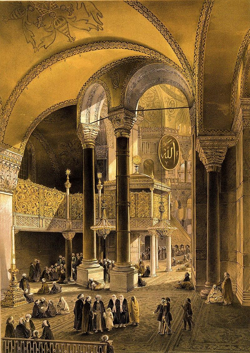 Aya Sofia, Constantinople (BM 1889,0603.121).jpg