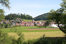 Bäretswil from the south