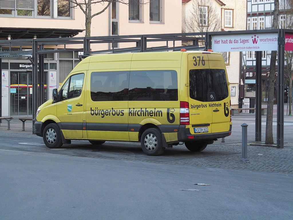Bürgerbus Kirchheim, 1, Bad Hersfeld, Landkreis Hersfeld-Rotenburg