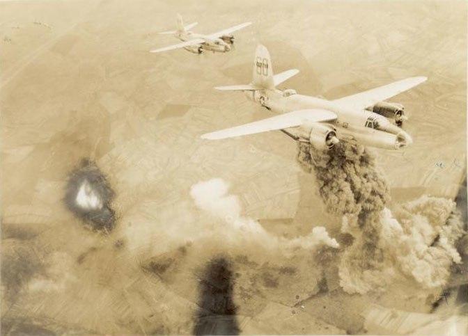 B-26smoking