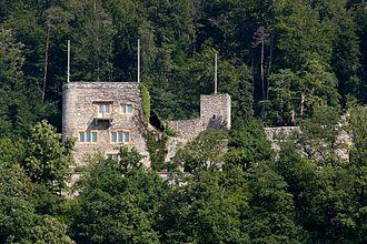 La Neuveville - Schlossberg Castle above La Neuveville