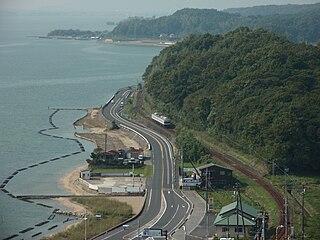 Kita-Matsue Line Railway line in Izumo, Shimane
