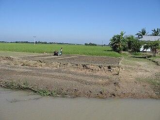 Kangsha River - Image: BD Kangsha River 2