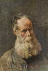 Male Portrait (Old Man with a Beard)