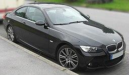 BMW 335cd (E92) M-Paket front