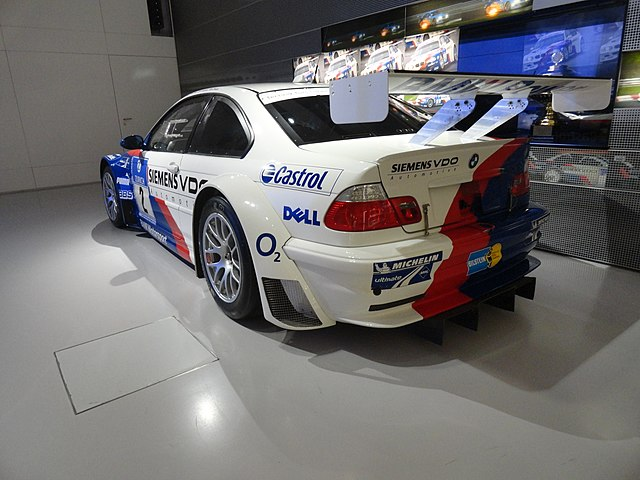 BMW M3 GTR in BMW-Museum - rear view