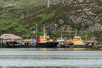 BUTEC - Shore Support Base, Kyle of Lochalsh