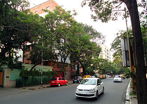 Ballygunge Circular Road - A stretch of B C Road