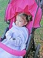 Baby Doojo sleeved blanket - 20090820.jpg