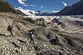 Backpackers Headed Towards the Root Glacier (21410785050).jpg