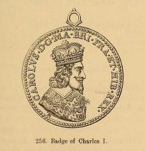 Thomas Rawlins - Badge of Charles I by Thomas Rawlins
