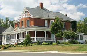 Crozet, Virginia - Image: Bain Housein Crozet