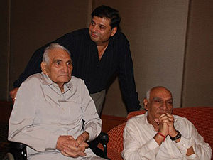 Yash Chopra - Image: Baldev Raj Chopra and Yash Chopra