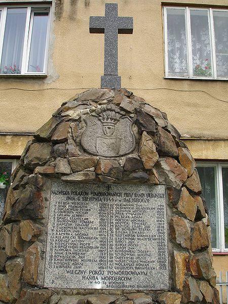 Файл:Baligród-pomnik pomordowanych.jpg