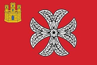 San Millán de la Cogolla - Image: Bandera san millan patron c