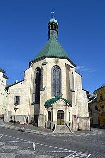 St. Catherines Church, Banská Štiavnica, Slovakia