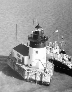 National Register of Historic Places listings in Monroe County, Michigan - Image: Bar Point Shoal Detroit River Light MI