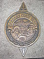 Barbary Coast Trail plaque, Clay and Montgomery Sts.JPG