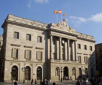 City Council of Barcelona - Image: Barcelona stjaume