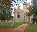 Barham Church, autumnal view - geograph.org.uk - 584953.jpg