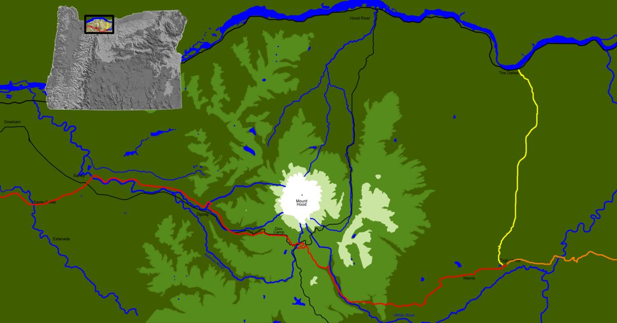 Barlow Road Wikipedia - Road map oregon