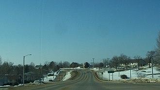 Barneveld, Wisconsin - Image: Barneveld Wisconsin Sign