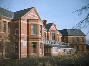 Barnsley Hall Hospital - Barnsley Hall Hospital in 1999 before demolition