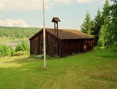 Barsta kapell, byggdes av gävlefiskarna på 1600-talet