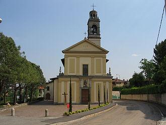Barzana - San Rocco Church