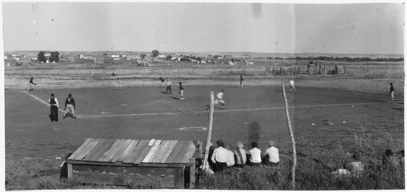 File:Baseball game at the Standing Rock Fair - NARA - 285867.tif