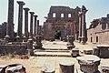 Basilica Complex, Qanawat (قنوات), Syria - East part- view through atrium to southern façade - PHBZ024 2016 1491 - Dumbarton Oaks.jpg
