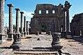 Basilica Complex, Qanawat (قنوات), Syria - East part- view through atrium to southern façade - PHBZ024 2016 3562 - Dumbarton Oaks.jpg