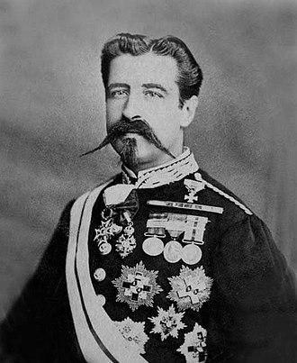 1898 in the Philippines - Basilio Augustín y Dávila.
