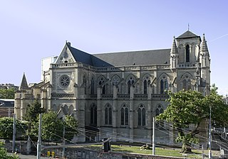 Basilica of Our Lady of Geneva Church in Switzerland