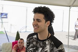 Basim, ESC2014 Meet & Greet 07.jpg