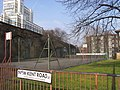 Basketball court on the New Kent Road - geograph.org.uk - 770352.jpg