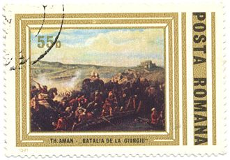 Battle of Giurgiu - The battle as depicted by Theodor Aman