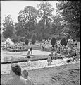 Bathing Pool- Entertainment and Relaxation in the Open Air, Guildford, Surrey, England, 1943 D15968.jpg