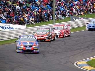 2005 V8 Supercar Championship Series - Marcos Ambrose (Ford BA Falcon) placed third in the championship
