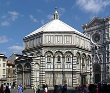 View from the outside with the Gates of Paradise & Florence Baptistery - Wikipedia Pezcame.Com