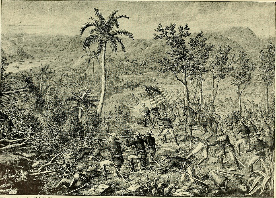Battle of San Juan Hill - Near Santiago, Cuba