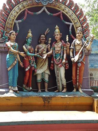 Valli - Valli married to Murugan.