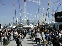 Bauma exhibition 2004 outdoor 01.jpg