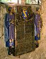 Bazentin (chapelle du cimetière) céramique de Maurice Dhomme 04c.jpg