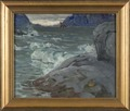 Beach. Study from North Norway (Anna Boberg) - Nationalmuseum - 21375.tif