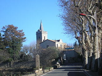 Beaufort, Hérault - The church of Saint-Martin